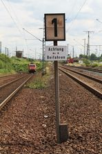 """""""Achtung Beifahren"""" .... """"maximal 10 km/h erlaubt"""""""