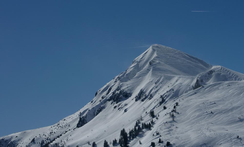 Achtung Berg in Sicht...