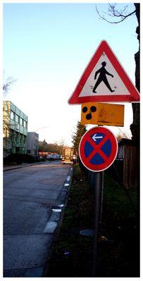 Achtung Blinde kreuzen!!!