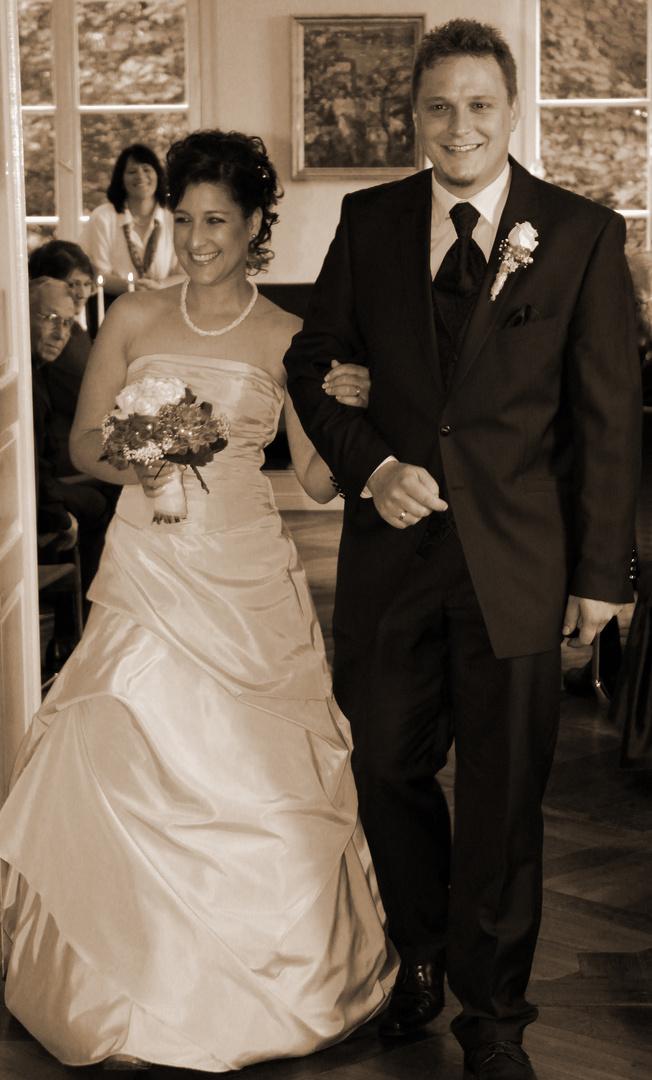 Achtung frisch Verheiratet