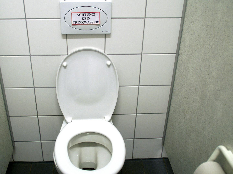 Achtung! Kein Trinkwasser!