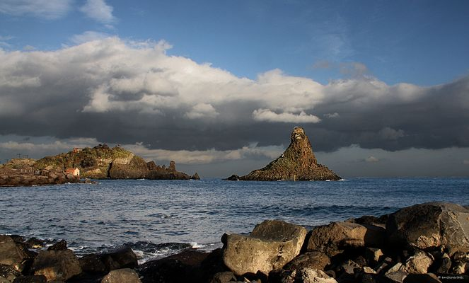 Aci Trezza: Les roches de Cyclope
