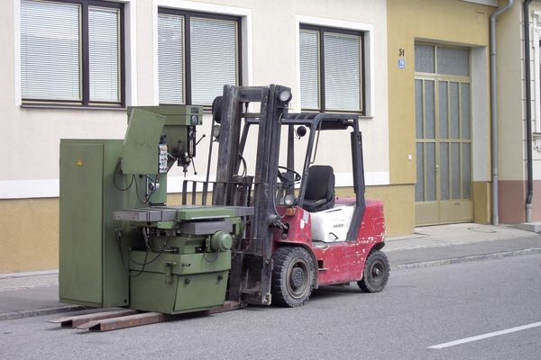 Aciera TNC Heidenhain Fräsmaschine