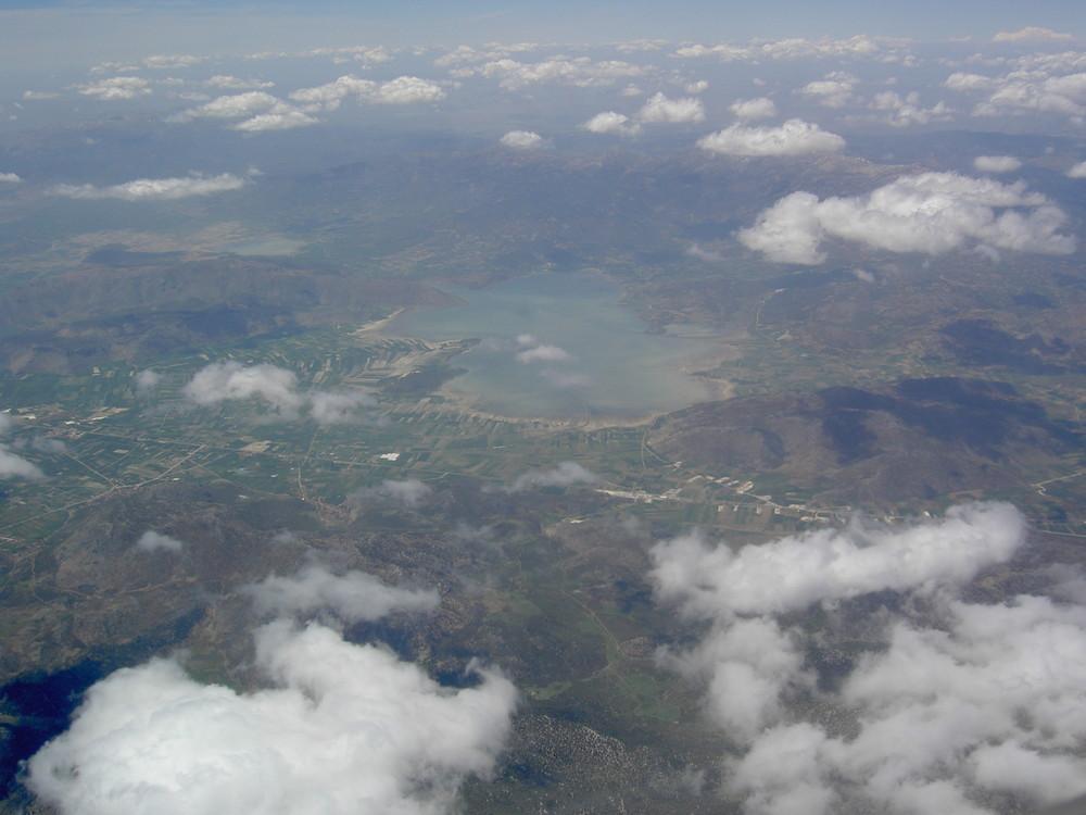 Acigöl See / The Bitter Lake - Natriumsulfat / sodium sulfate / sodium sulphate (Türkei/Turkey)