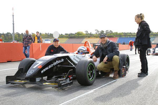 ACO Tiefbau GmbH Dallara F 308 Formel 3 mit CR Racing Team
