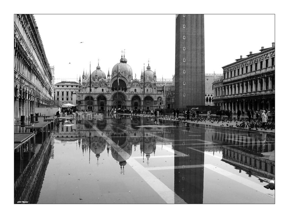 Acqua alta P.S.Marco Venezia
