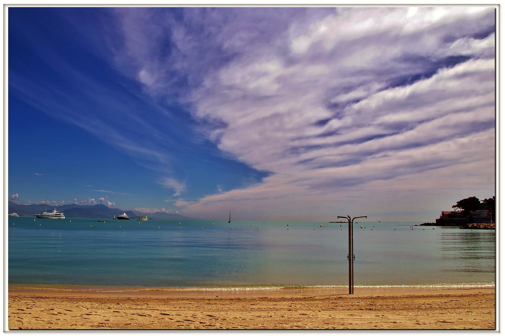 acqua dolce sulla spiaggia....