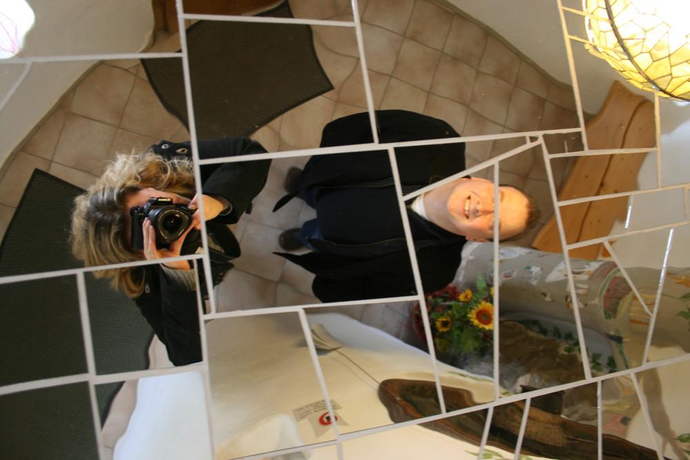 Action im Spiegel!