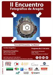 Actividades ll encuentro de fotografos en Aragón