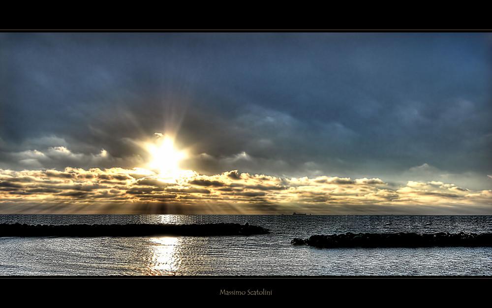 ....ad osservare il mare