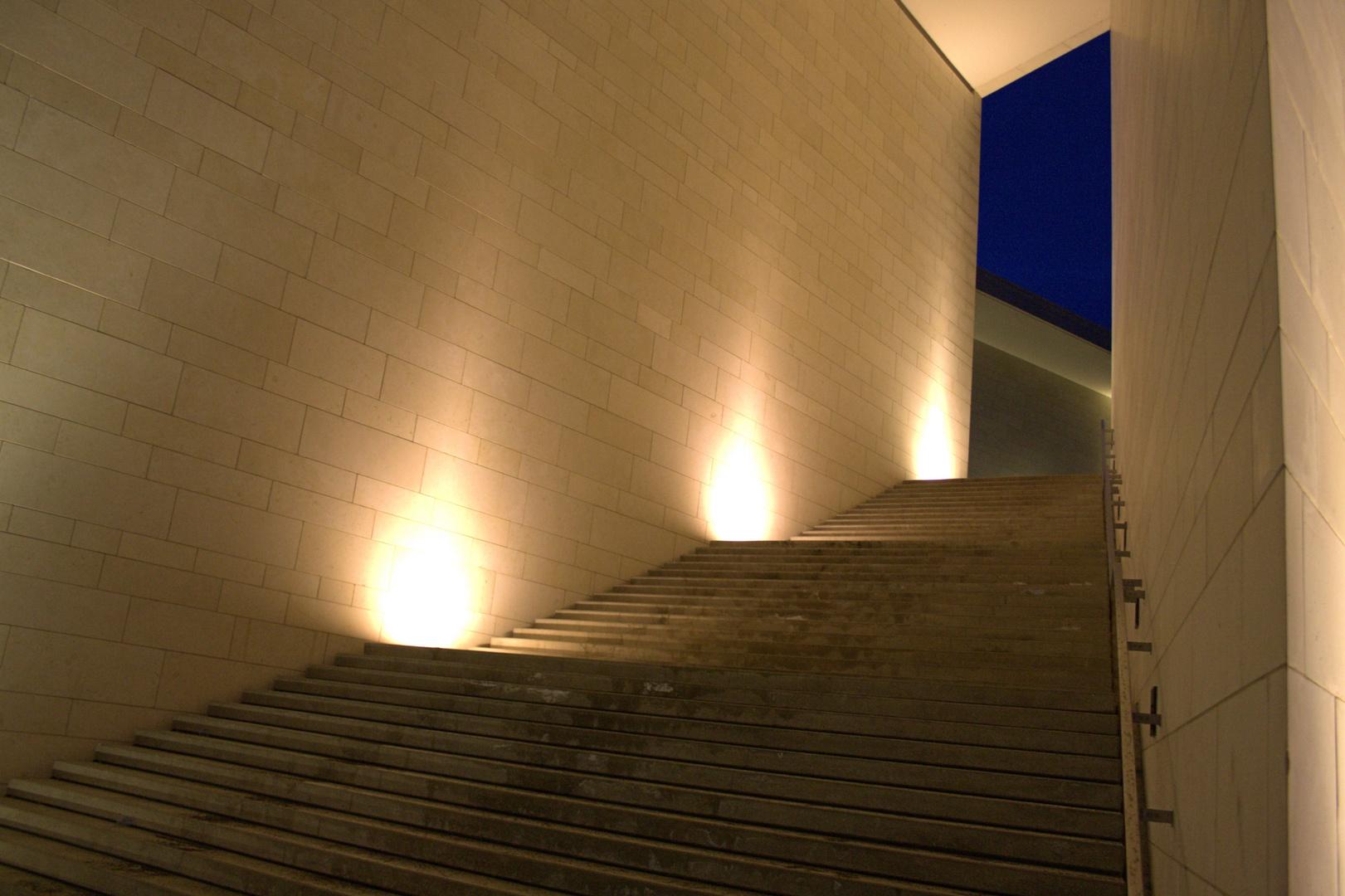 ADAC Gebäude Dortmund, Treppe