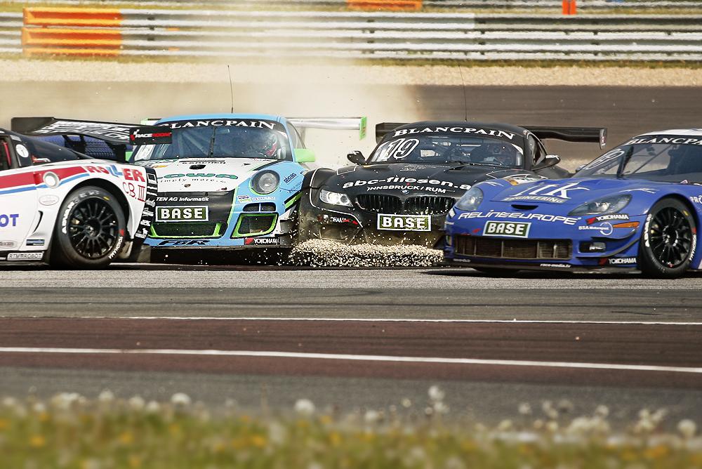 ADAC GT MASTERS - Oschersleben 2014 - Rennstart Samstag