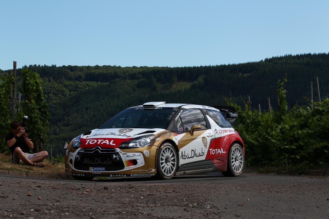 ADAC Rallye Deutschland Testfahrten in Kinheim