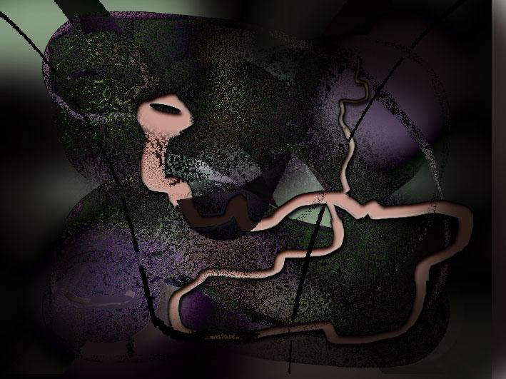 Adam und Eva...Der fahle Wurm...