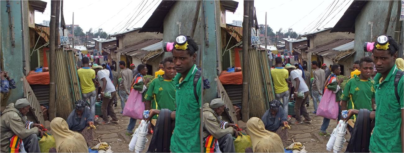 Addis Abeba Innenstadt