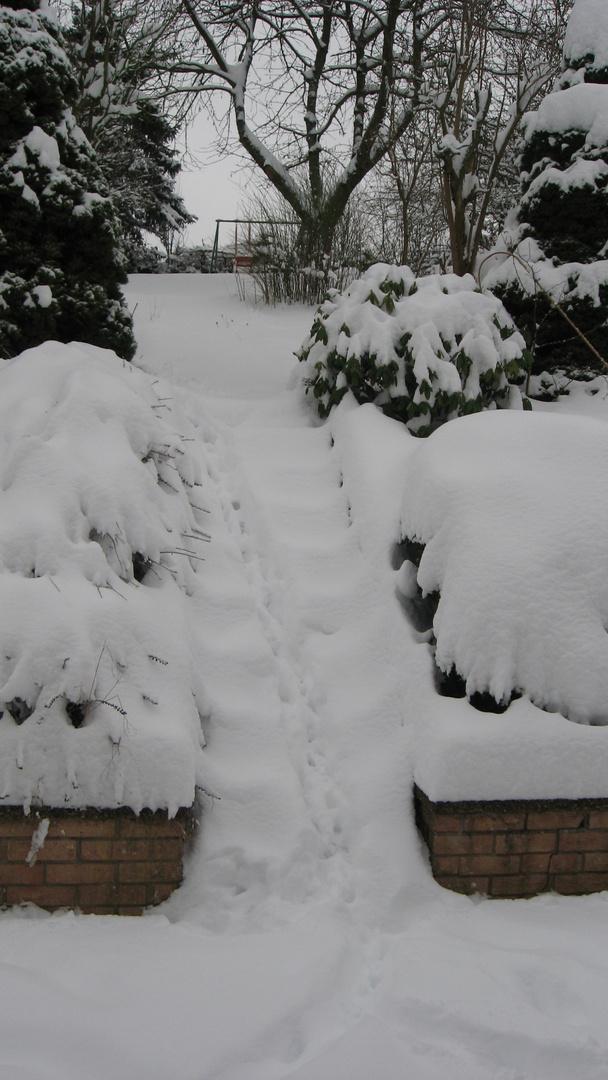Adé Winter es war schön aber jetzt langt es...
