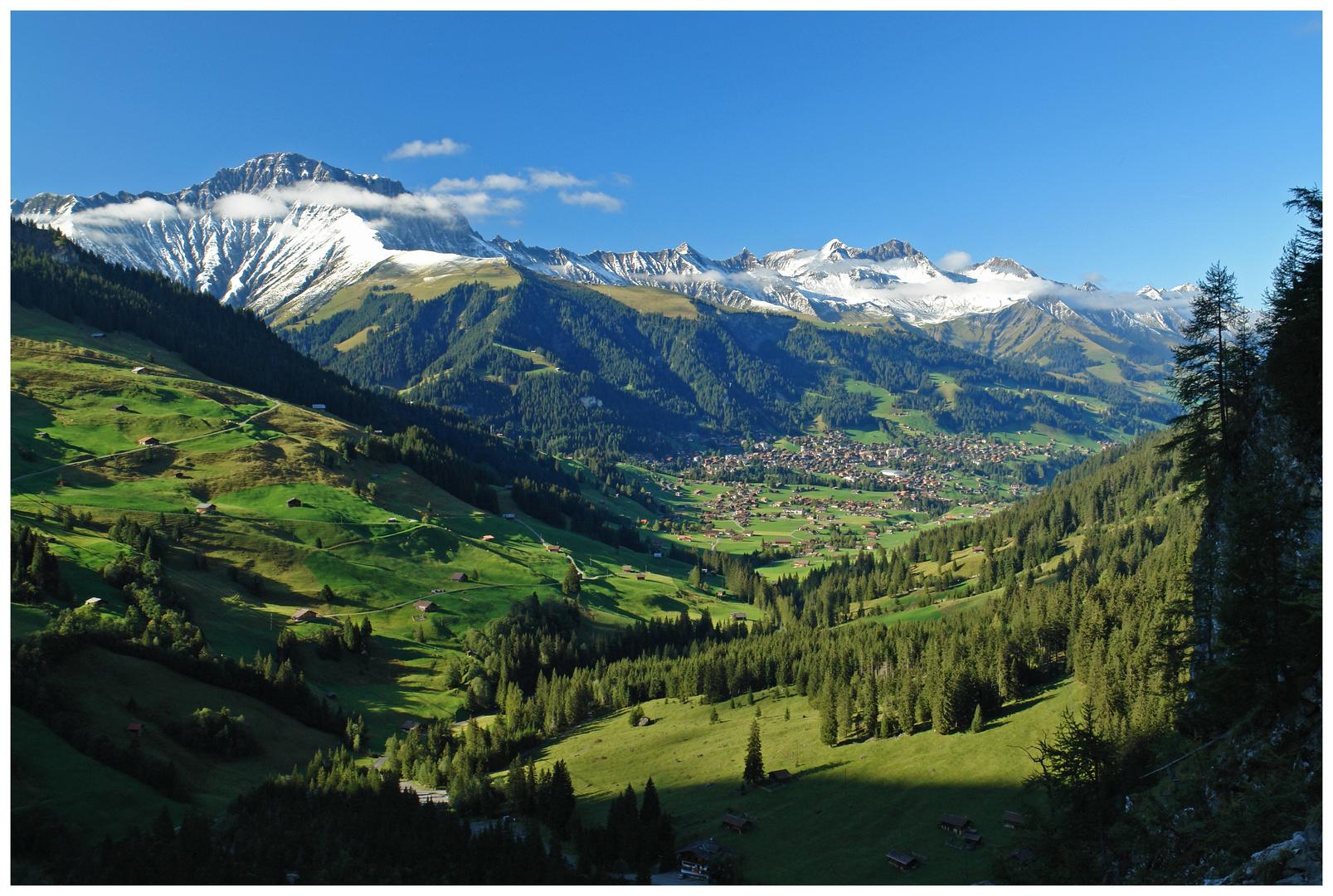 Adelboden Berner Oberland Schweiz