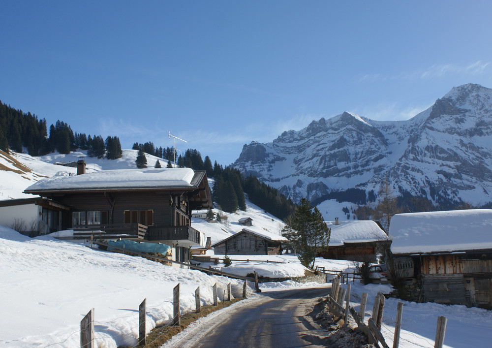 Adelboden im Winterkleid