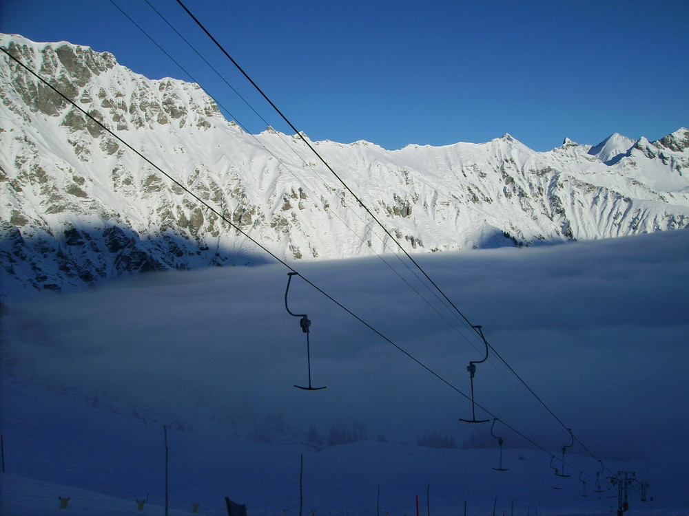 Adelboden - Tschenten, Suisse 2008