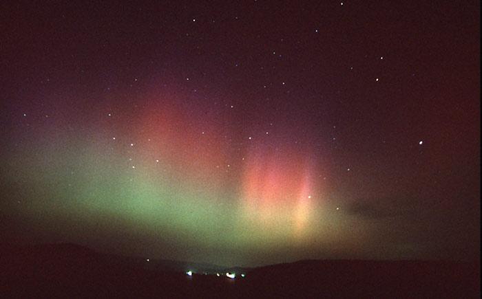 Adelebser Polarlicht