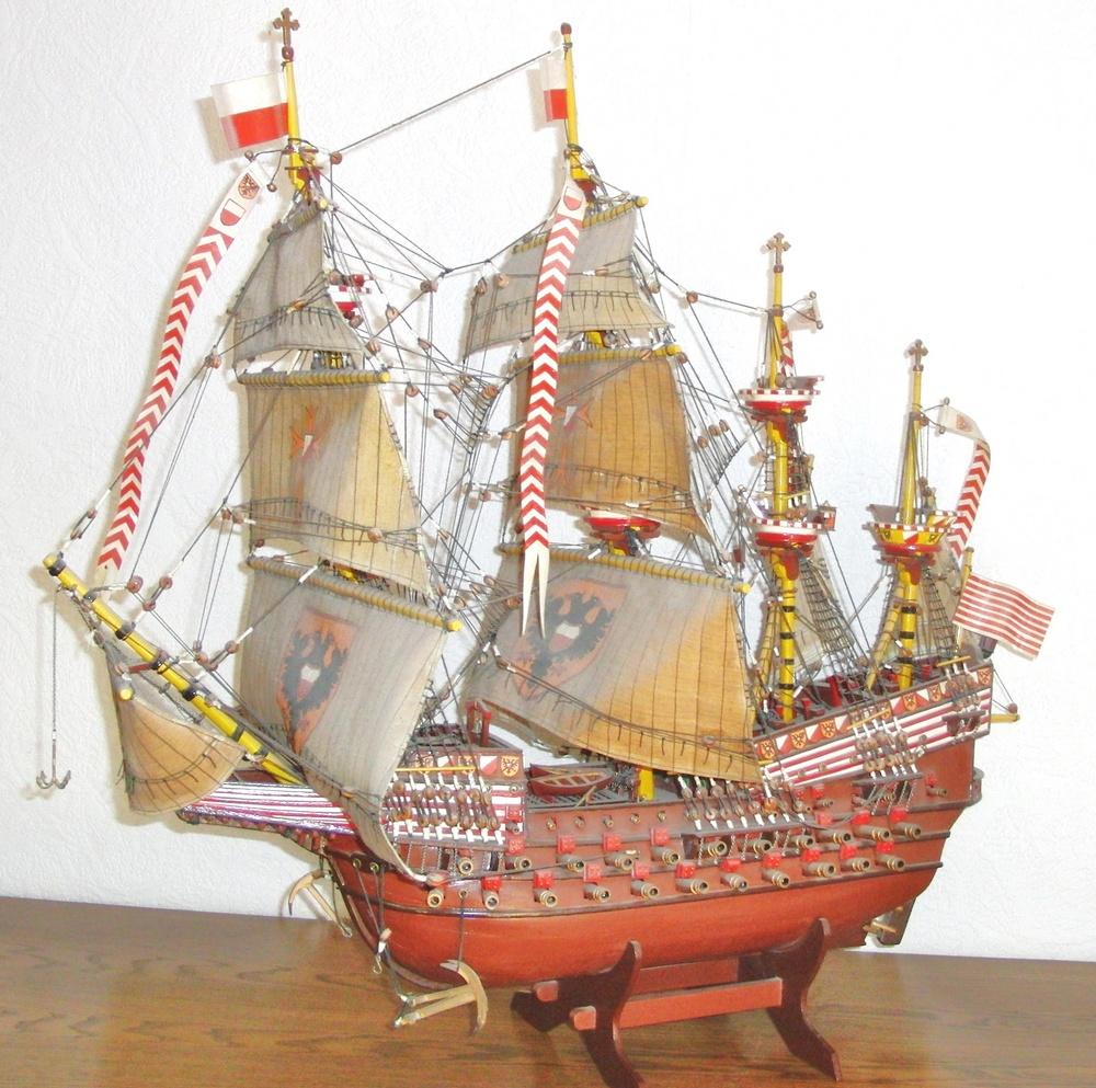 -Adler von Lübeck-Das Modell-
