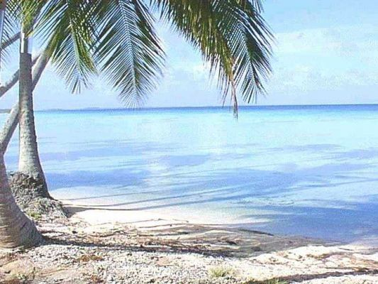 admirée cette plage