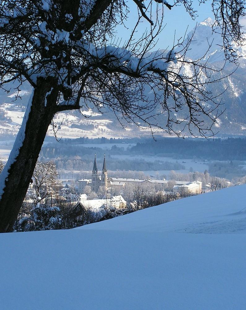 Admont im Winter