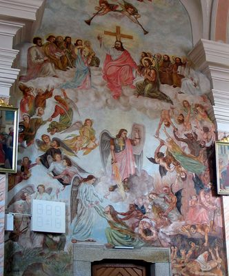 Adolf Hitler im Kirchengemälde