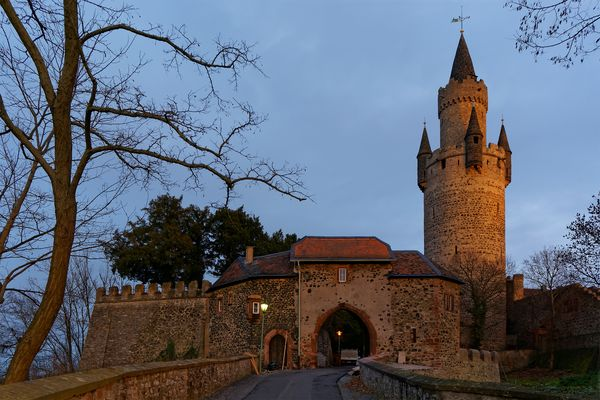 Adolfsturm & Nördliches Tor Burg Friedberg
