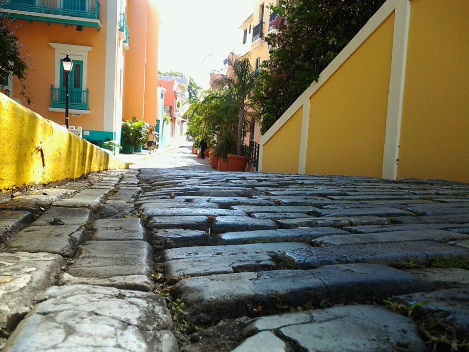 Adoquines del Viejo San Juan