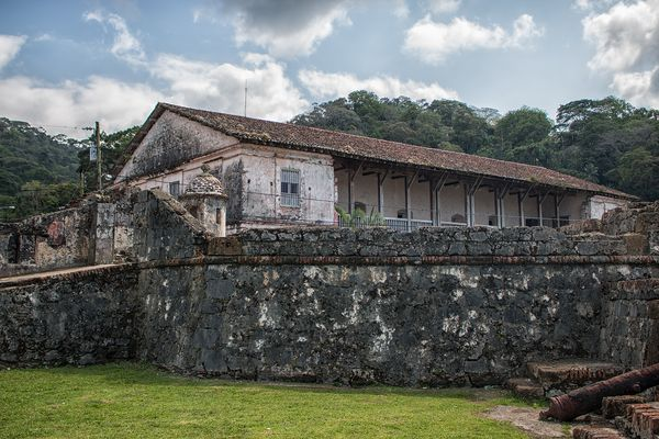 Aduana de Portobelo Panamá...