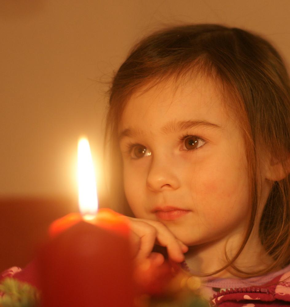 Advent, Advent 1 Lichtlein brennt