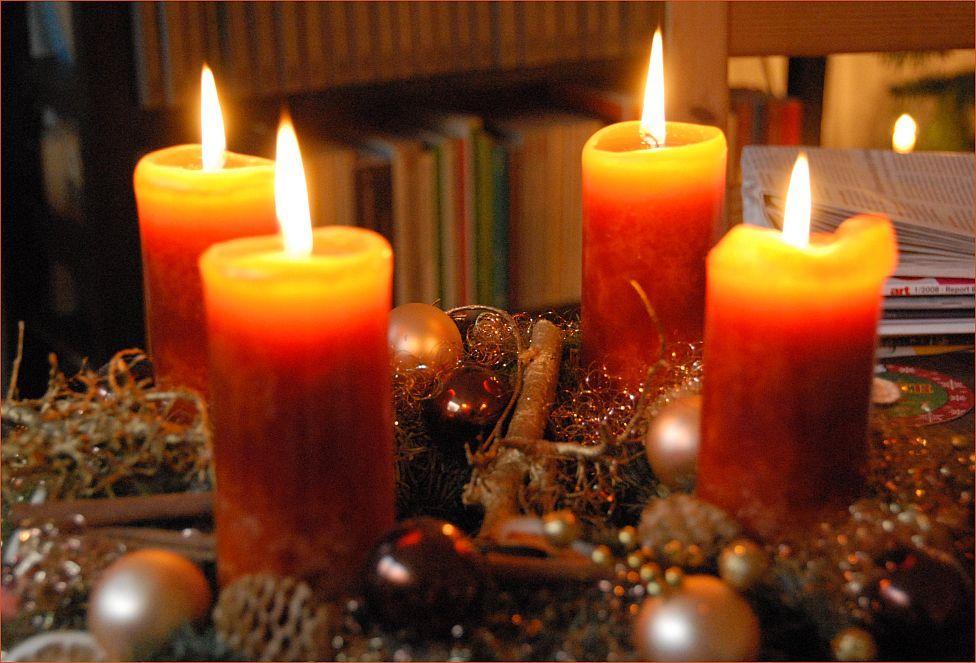 Advent, Advent, das vierte Kerzlein brennt!