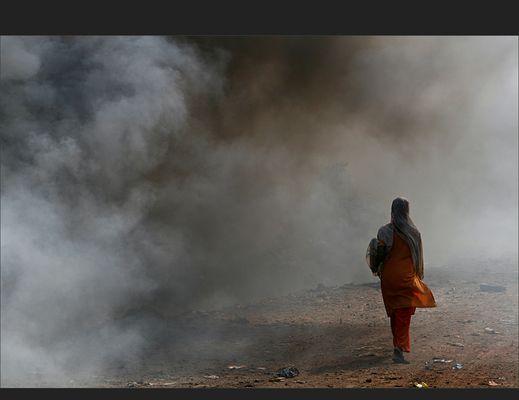 Advent - Advent, der Müllberg brennt