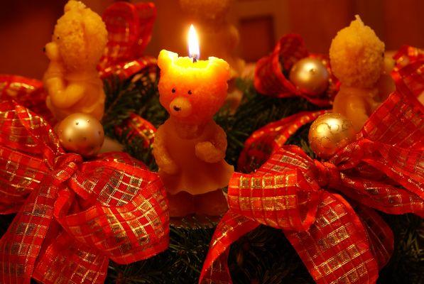 Advent, Advent ein Bärchen brennt :-)