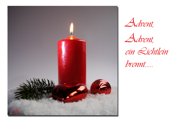 Advent, Advent...