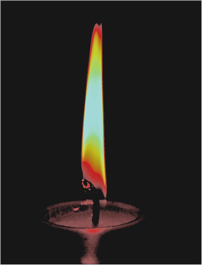 advent die erste kerze brennt foto bild fotokunst. Black Bedroom Furniture Sets. Home Design Ideas