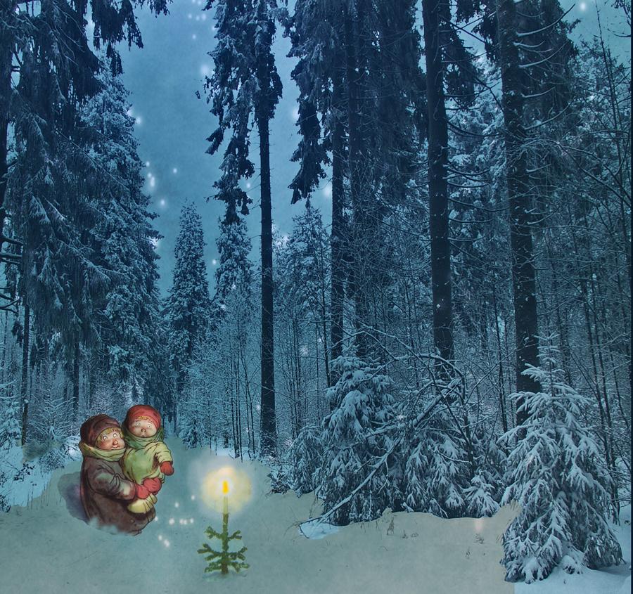 Advent- ein Lichtlein brennt