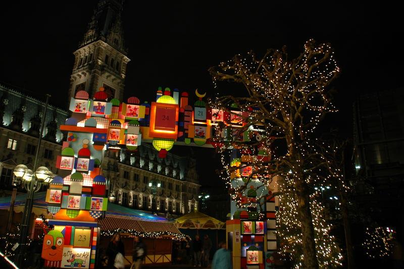 Adventskalender am Rathausplatz