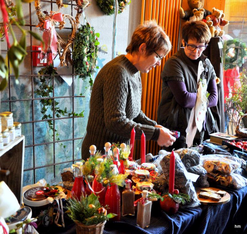 Adventsmarkt in Isyllistan II - fleißige Eltern