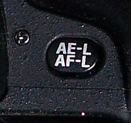 AE-L AF-L Druckknopf an der Nikon D80