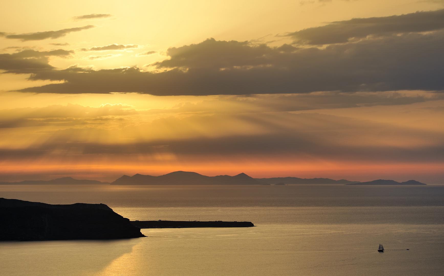 *aegean sunset*