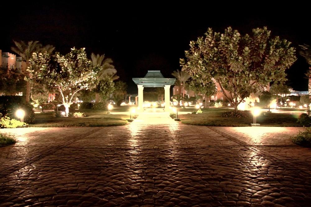 Ägypten bei Nacht
