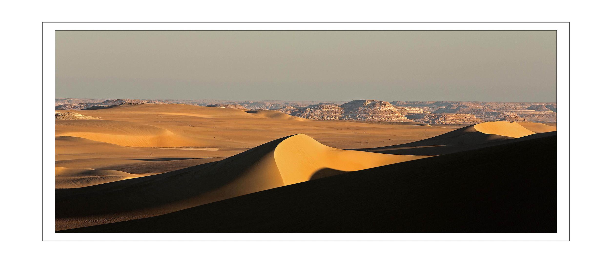 Ägypten, Dünen bei Oase Siwa