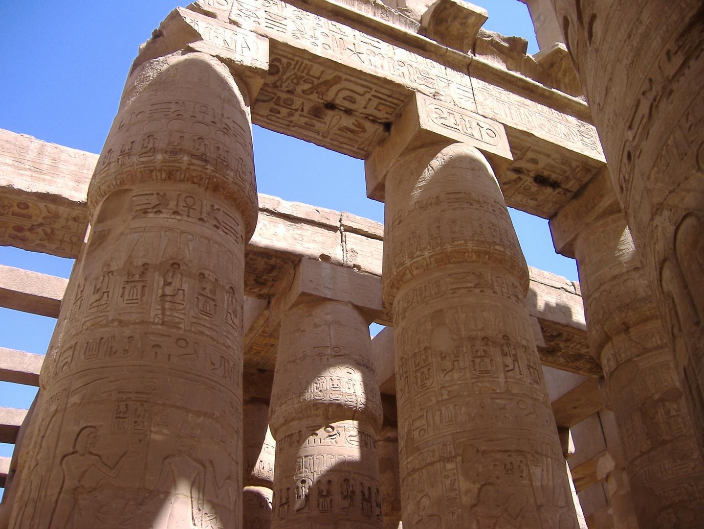 Ägypten-Karnak Tempel