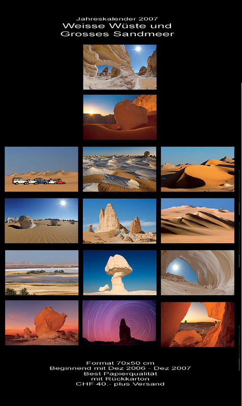 Ägypten - Wandkalender 2007