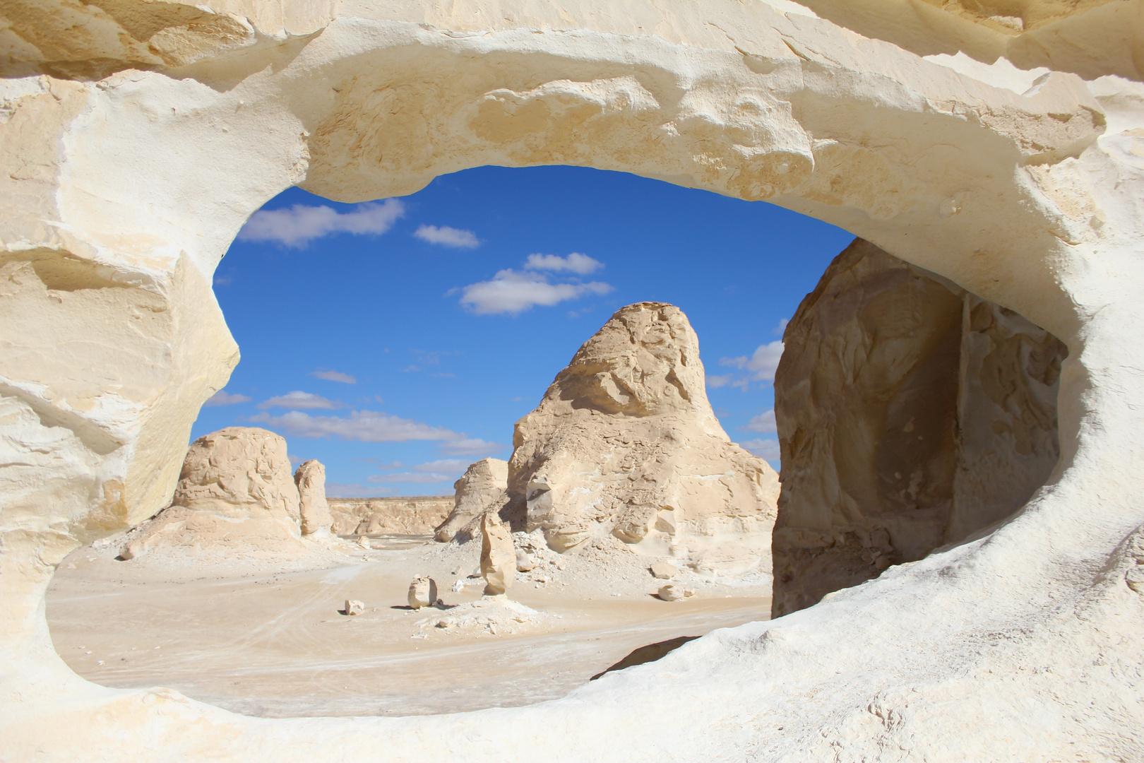 Ägypten, Weiße Wüste