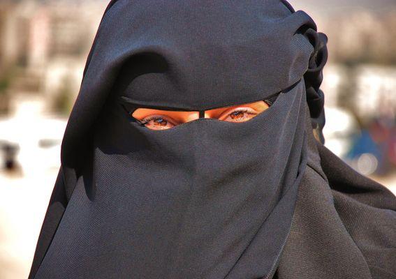 Ägypterin mit Burka