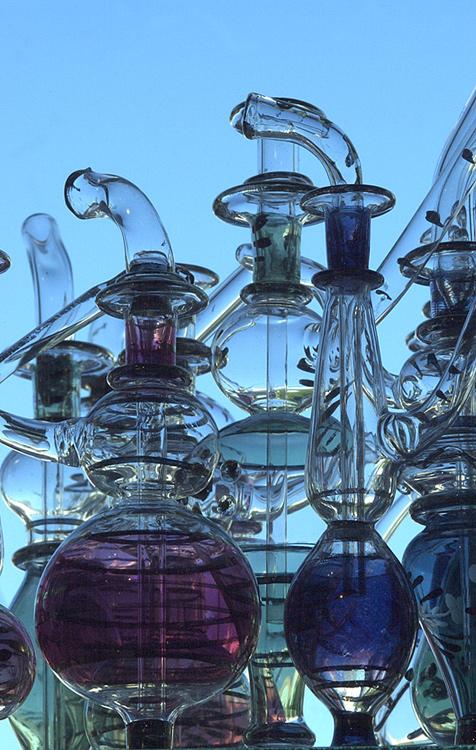 Aegyptische Glasbläserkunst