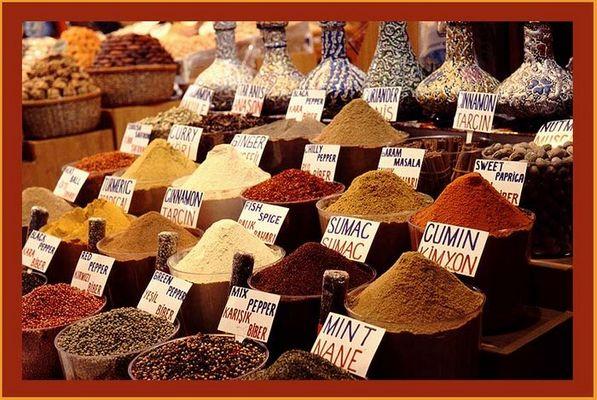 Ägyptischer Basar, Istanbul (Gewürzmarkt)